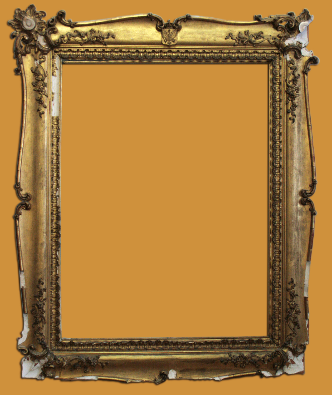 Vergoldeter Gemälde Rahmen | Inauratus | Rahmen Restaurierung ...